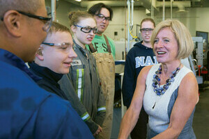 Working to Make Life Better: The Honourable Rachel Notley